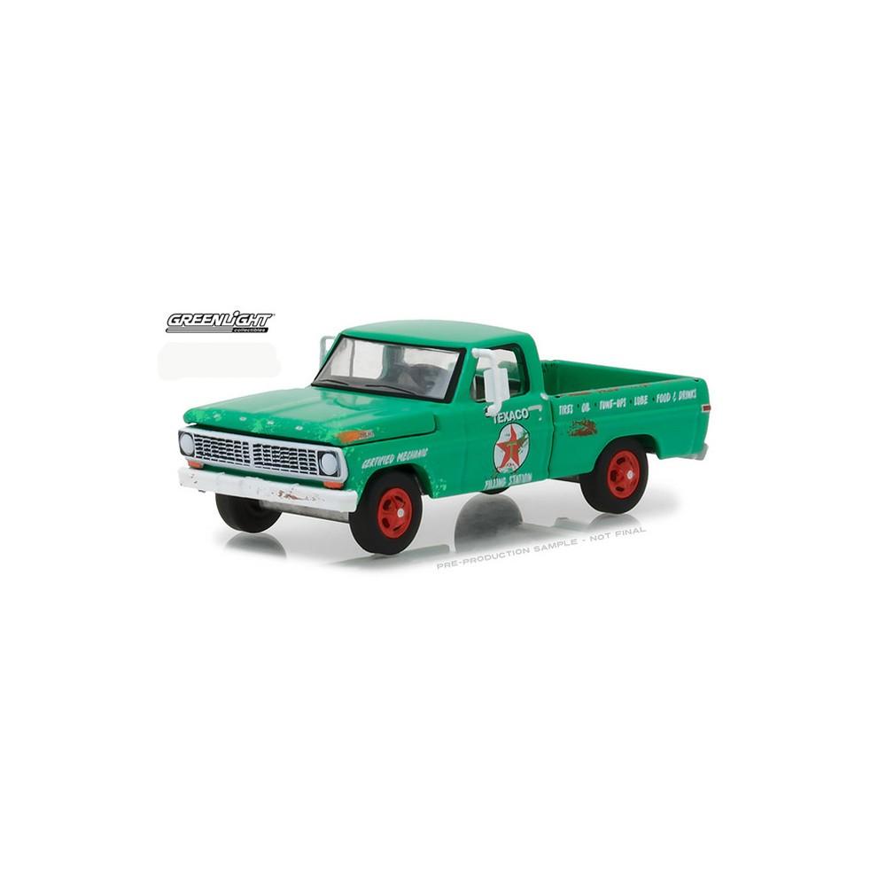 Greenlight Running On Empty Series 4 1970 Ford F 100 Truck Texaco F100 Pickup