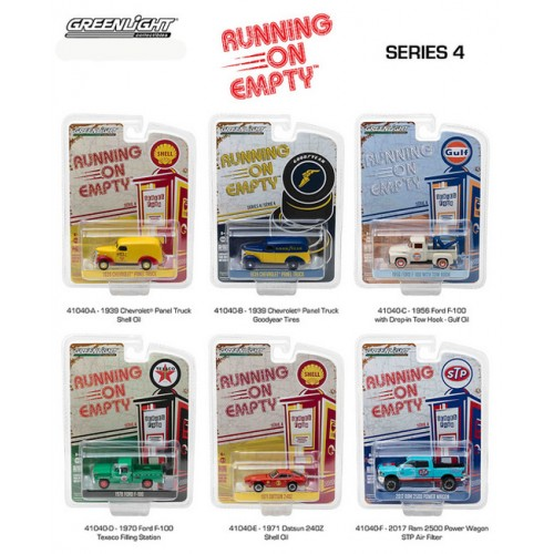 Running on Empty Series 4 - Six Car Set