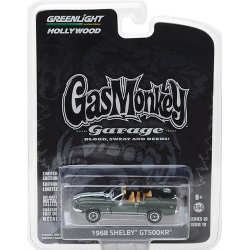 Hollywood Series 19 - 1968 Shelby GT500KR Convertible Gas Monkey Garage