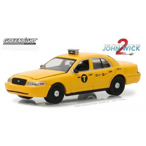 Hollywood Series 19 - 2008 Ford Crown Victoria Taxi John Wick