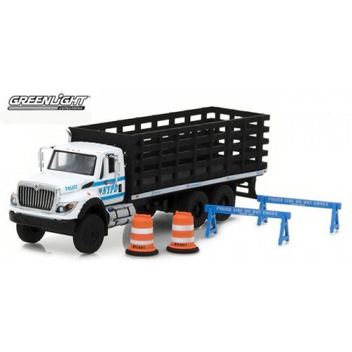 S.D. Trucks Series 3 - 2017 International WorkStar Platform Truck NYPD