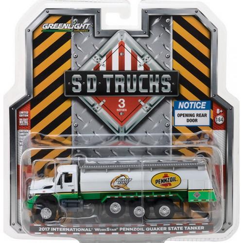 Super Duty Trucks Series 3 - 2017 International WorkStar Tanker Truck Pennzoil Quaker State