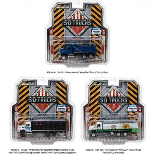 Super Duty Trucks Series 3 - International WorkStar Truck  Set
