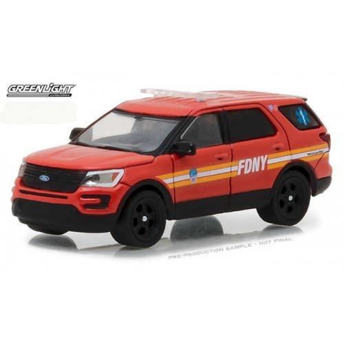 Hobby Exclusive - 2016 Ford Interceptor Utility FDNY