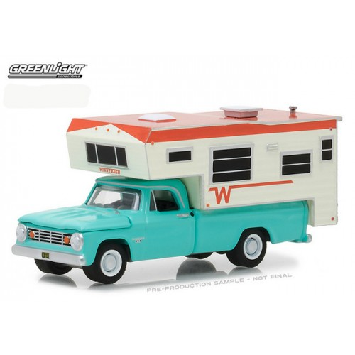 Hobby Exclusive - 1965 Dodge D-100 with Winnebago Slide-In Camper
