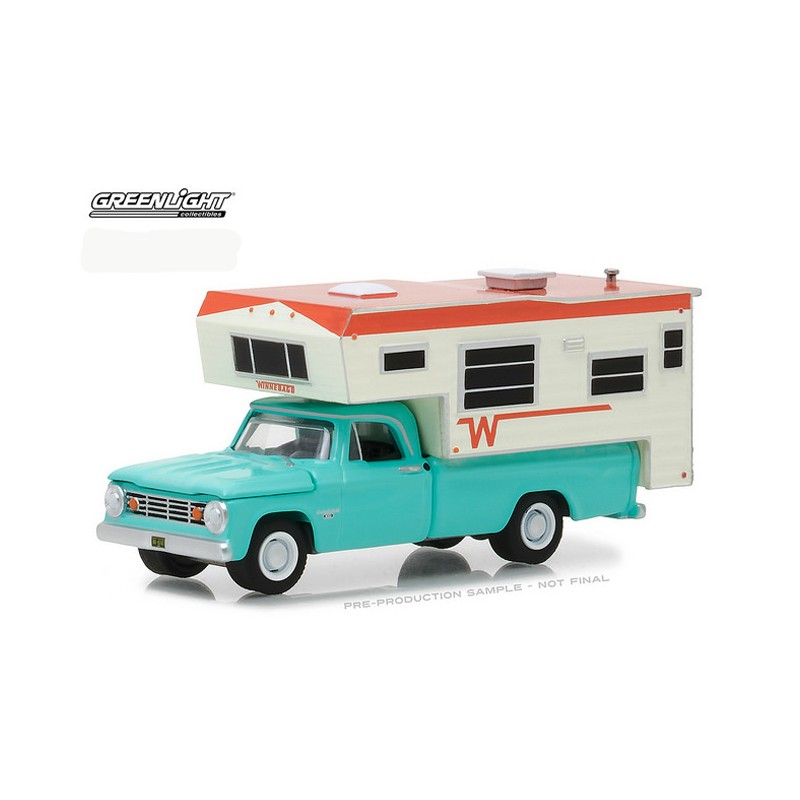 greenlight hobby exclusive  dodge    winnebago camper