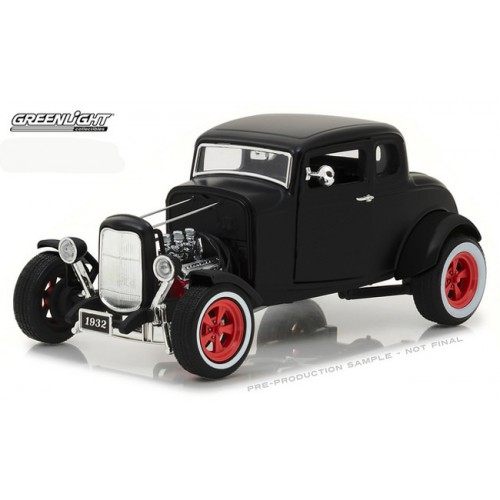 Greenlight - 1932 Custom Ford Hot Rod Matte Black