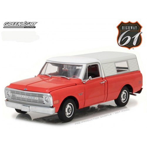 Greenlight Highway 61 - 1970 Chevrolet C10 with Camper Shell