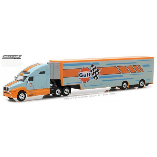 Hobby Exclusive - 2017 Kenworth T2000 Gulf Oil Racing Transporter