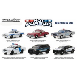 Hot Pursuit Series 26 - Six Car Set