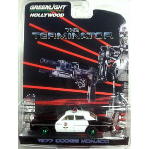 Hollywood Series 19 - 1977 Dodge Monaco The Terminator Green Machine