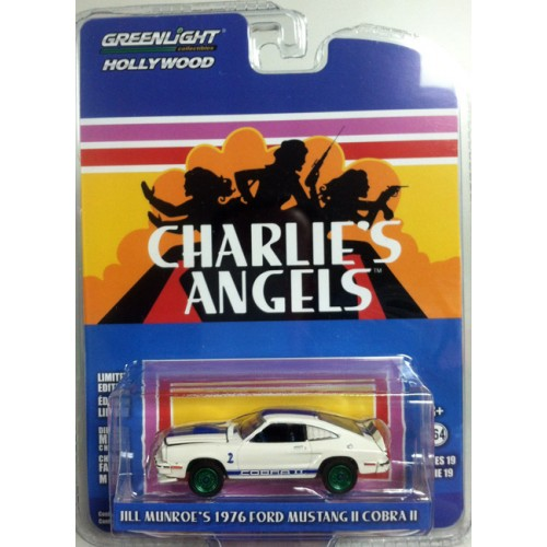 Hollywood Series 19 - 1976 Ford Mustang II Cobra II Charlie's Angels Green Machine
