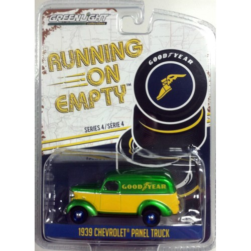 Running on Empty Series 4 - 1939 Chevrolet Panel Truck Goodyear Tires Green Machine