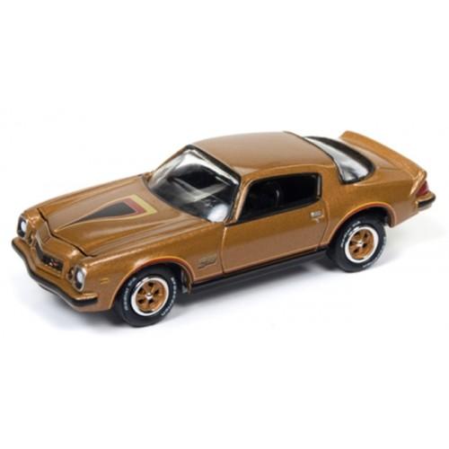 Johnny Lightning Classic Gold - 1977 Chevy Camaro Z28