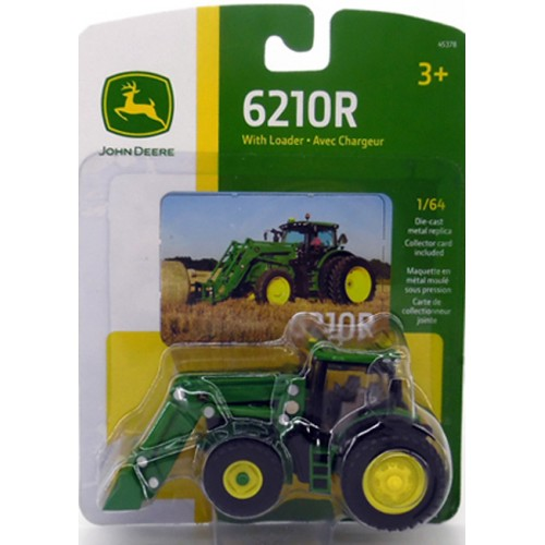 John Deere 6210R Tractor with Loader