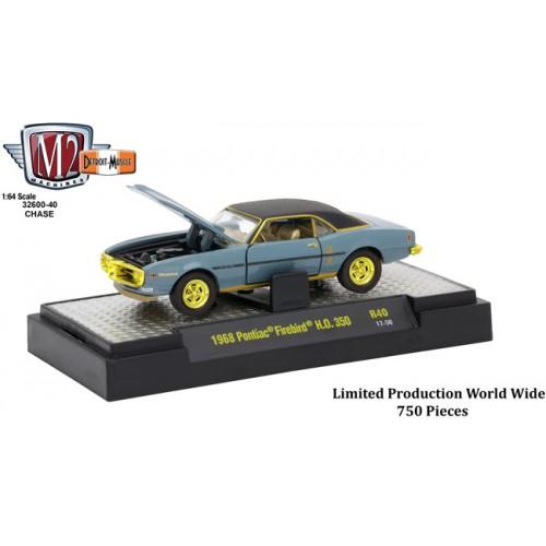 Detroit Muscle Release 40 - 1968 Pontiac Firebird H.O. 350 CHASE CAR
