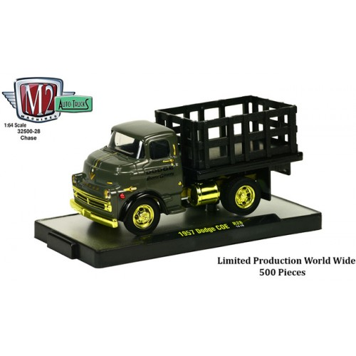 Auto-Trucks Release 28 - 1957 Dodge COE Stakebed CHASE