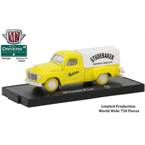 M2 Machines Drivers Release 39 - 1950 Studebaker 2R Truck CHASE