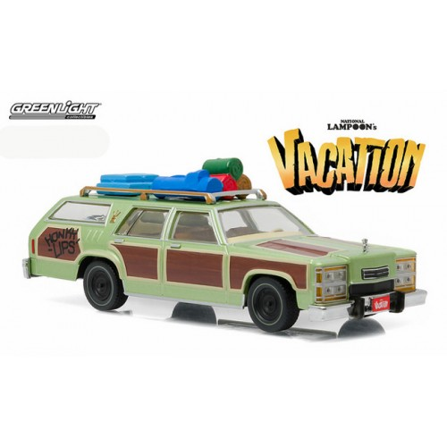 Greenlight Wagon Queen Family Truckster Vacation Honky Lips Version