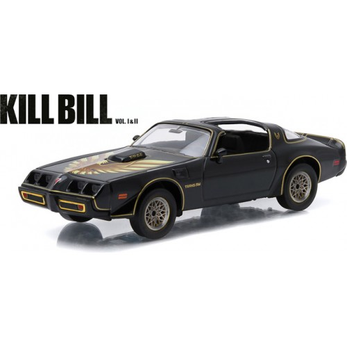 Greenlight 1979 Pontiac Firebird Trans AM Kill Bill