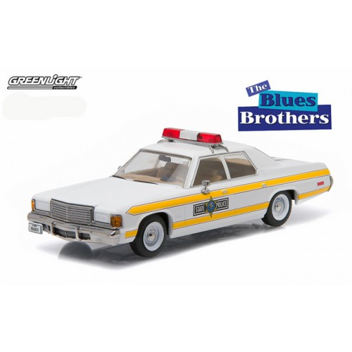 Greenlight 1977 Dodge Royal Monaco Illinois State Police Blues Brothers