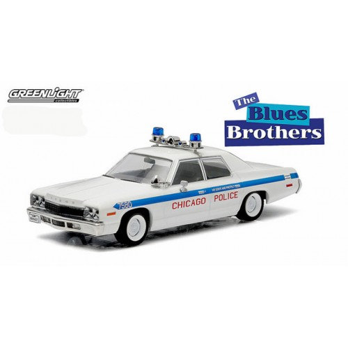 Greenlight 1975 Dodge Monaco Chicago Police Blues Brothers