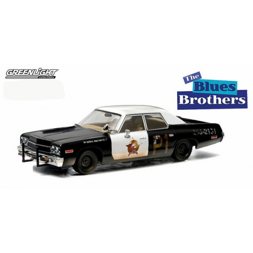 Greenlight 1974 Dodge Monaco Bluesmobile