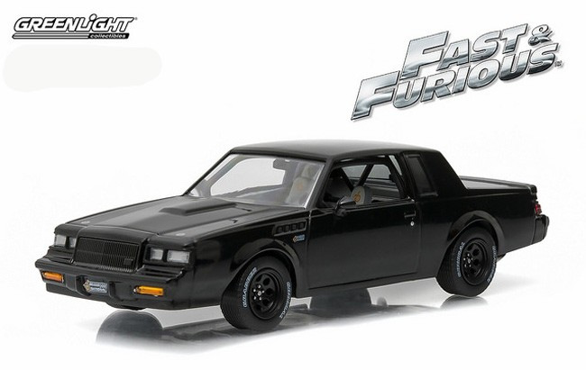 1:43 ertl//auto World Buick Grand National 1985 Black