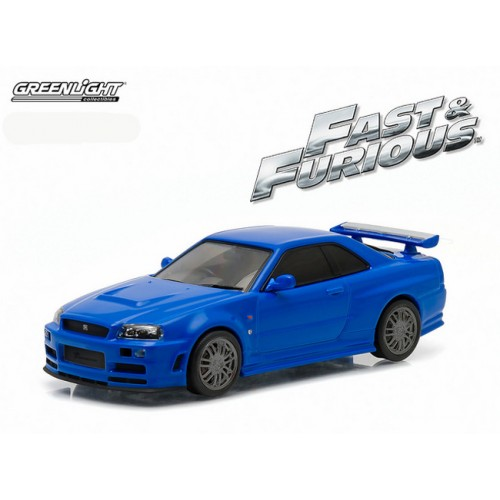 Greenlight Fast & Furious - 2002 Nissan Skyline GT-R