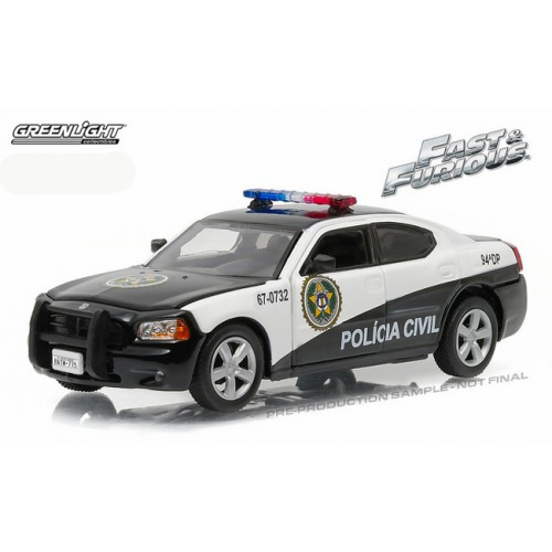 Greenlight Fast & Furious - 2006 Dodge Charger Pursuit