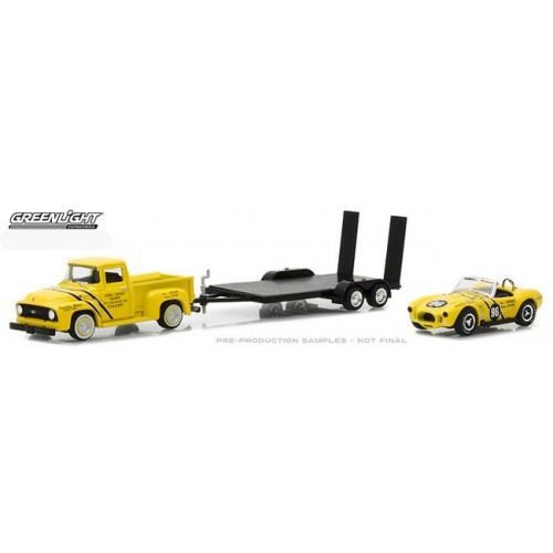 Greenlight Racing Hitch and Tow Series 1 - 1954 Ford F-100 with 289 Cobra
