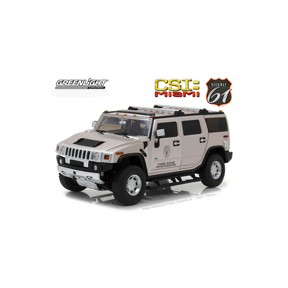 Greenlight Highway 61 - 2003 Hummer H2