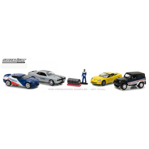 Greenlight Multi-Car Diorama - BF Goodrich Performance Tire Shop