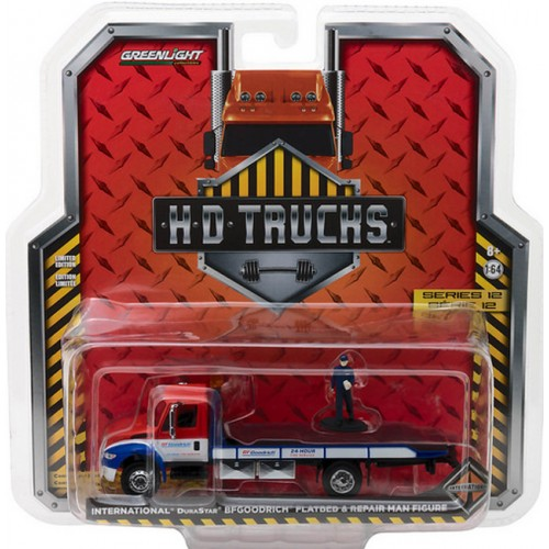 Greenlight HD Trucks Series 12 - 2013 International DuraStar Flatbed