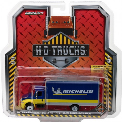 Greenlight HD Trucks Series 12 - 2013 International DuraStar Box Van