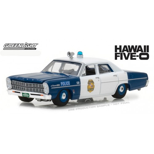Greenlight Hollywood Series 20 - 1967 Ford Custom Police Car