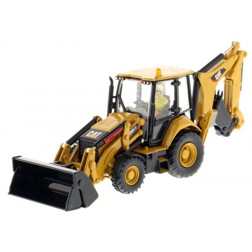 Diecast Masters CAT 420F2 IT Backhoe Loader with Tools