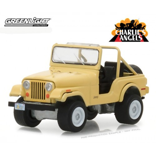 Greenlight Hollywood Series 20 - Jeep CJ-5 Charlie's Angels