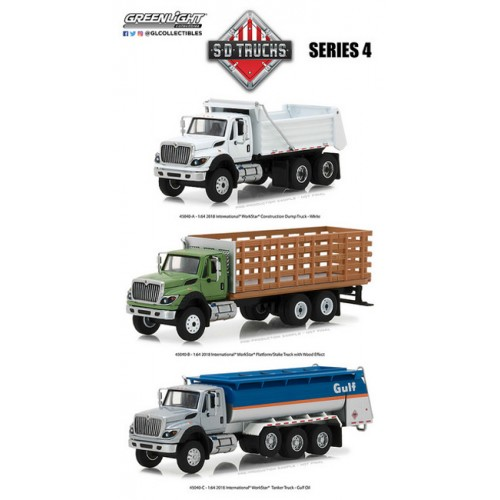 Greenlight Super Duty Trucks Series 4 - SET