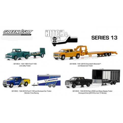 Greenlight Hitch and Tow Series 13 - SET