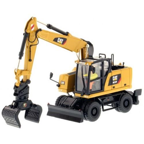 Diecast Masters CAT M318F Wheeled Excavator