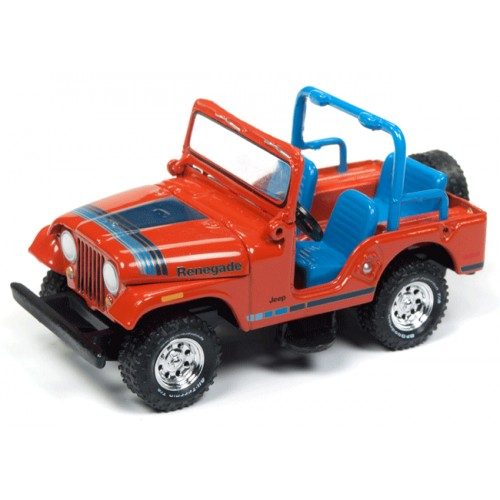 Johnny Lightning Classic Gold Jeep CJ-5 Renegade