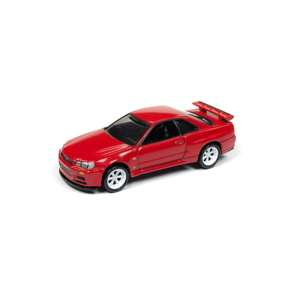 Johnny Lightning Classic Gold 1999 Nissan Skyline GT-R (R-34)