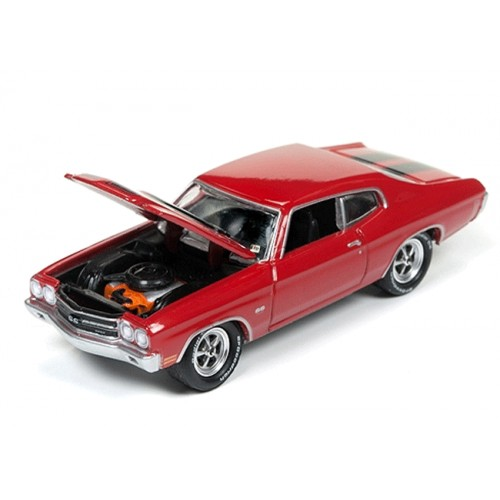 Johnny Lightning Silver Screen 1970 Chevy Chevelle