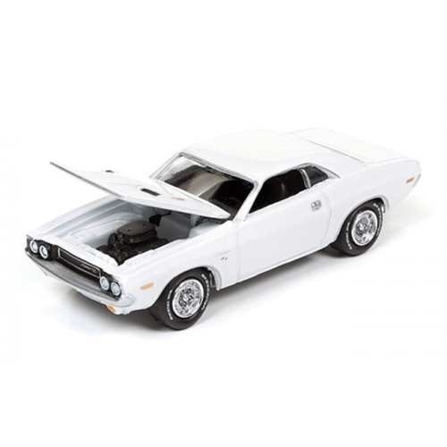 Johnny Lightning Silver Screen 1970 Dodge Challenger