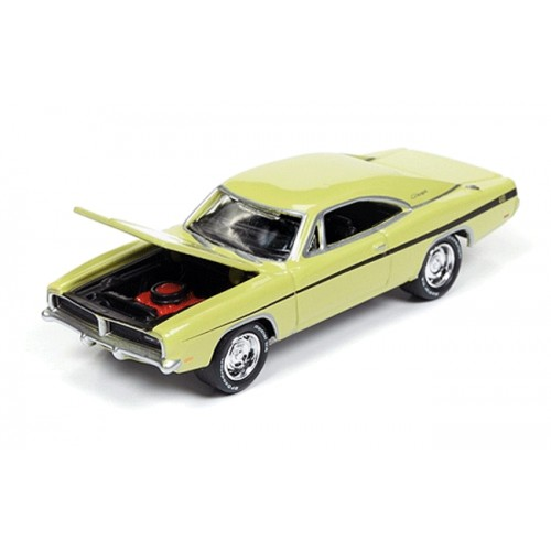 Johnny Lightning Silver Screen 1969 Dodge Charger R/T