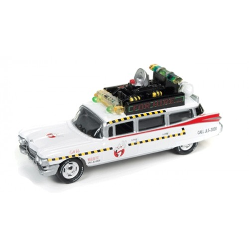 Johnny Lightning Silver Screen Series Ghostbusters Ecto 1