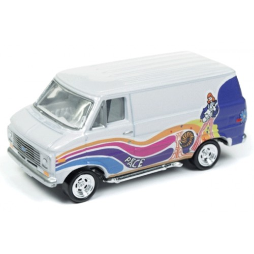Johnny Lightning Street Freaks 1976 Chevy G-20 Van