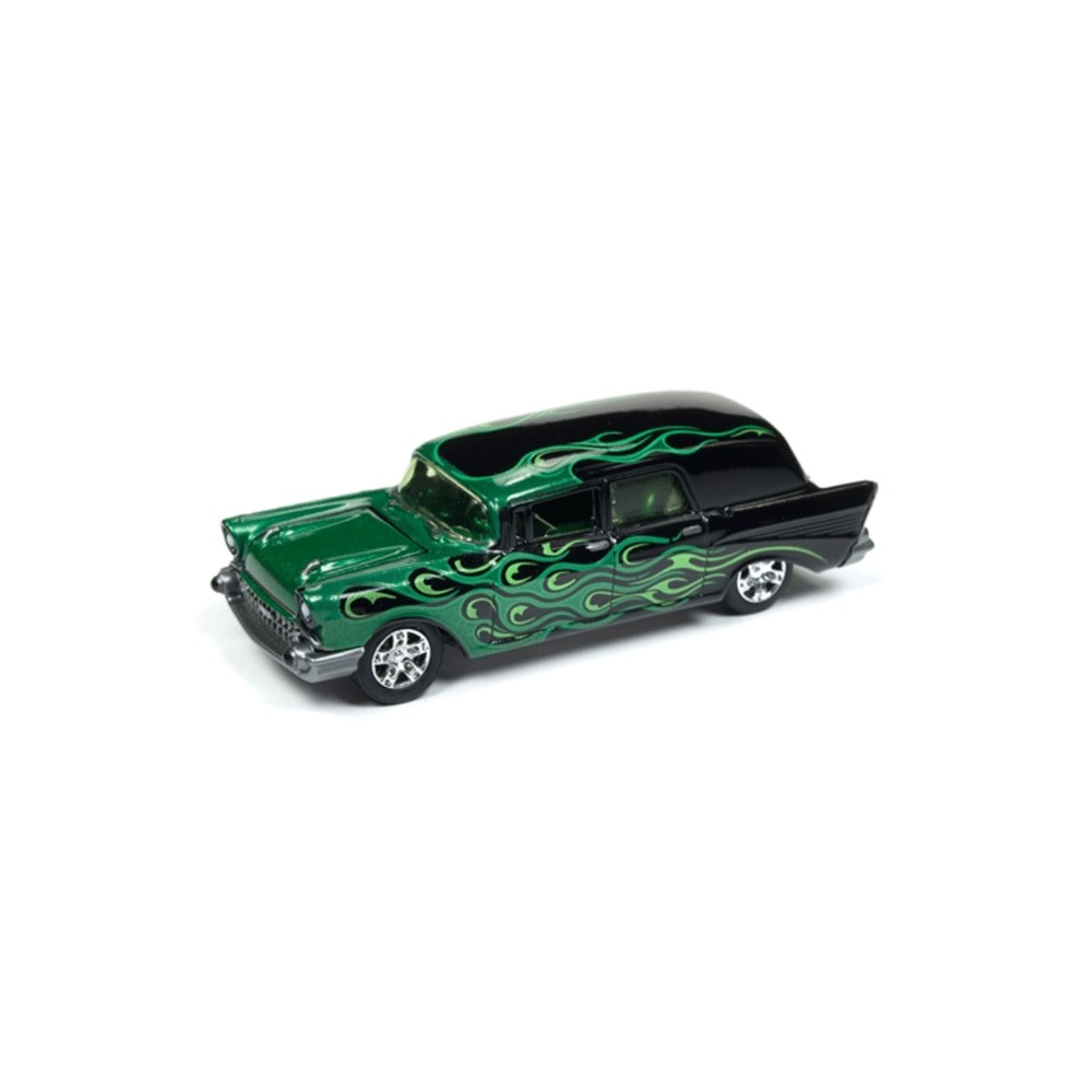 Johnny Lightning Street Freaks 1957 Chevy Ambulance