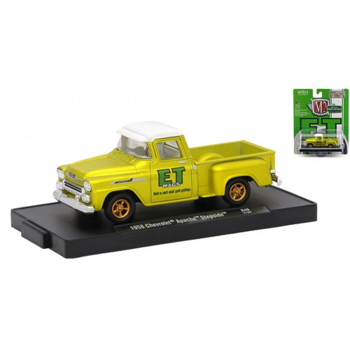 M2 Machines Drivers 1958 Chevy Apache Stepside Truck